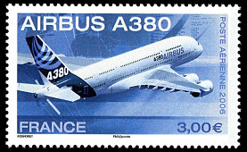 Image du timbre Airbus A380