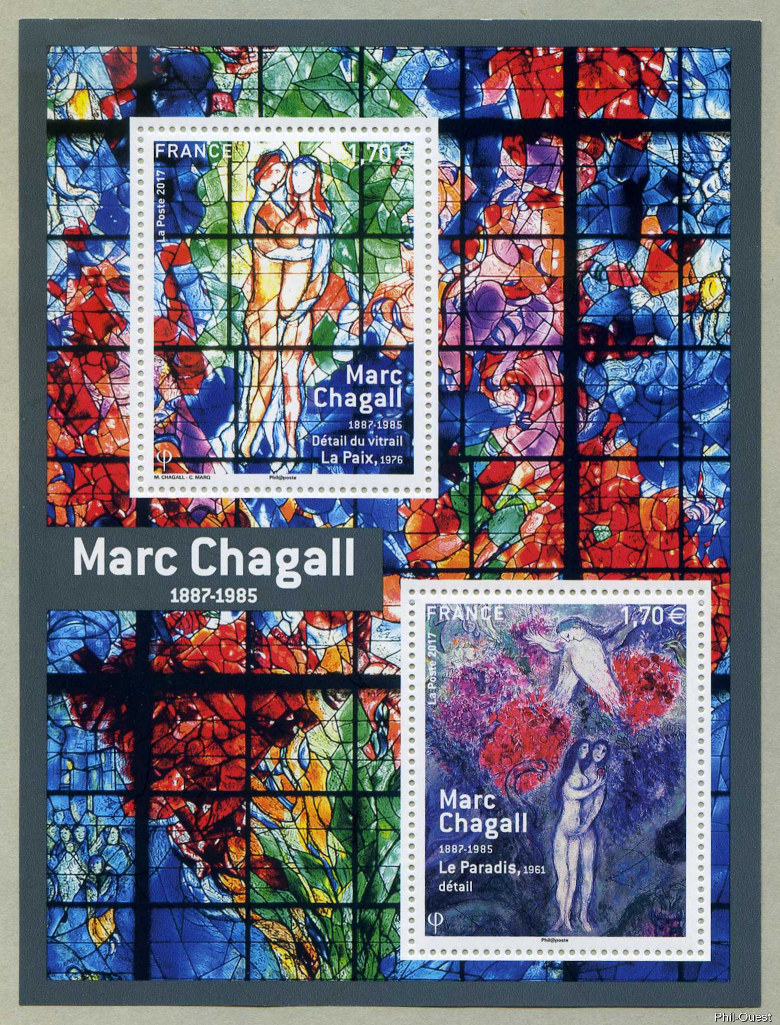 Image du timbre Marc Chagall 1887-1985
