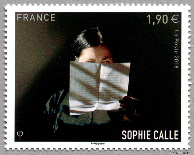 法国10月19日发行索菲卡莱邮票