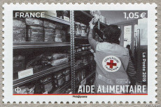 Image du timbre Aide alimentaire