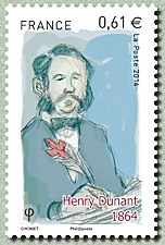 Image du timbre Henry Dunant