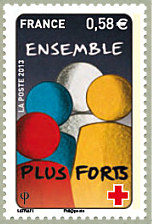 Image du timbre Ensemble plus forts