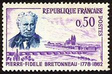 Pierre-Fidèle Bretonneau 1778-1862 - Timbre de 1962