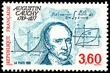 Image du timbre Augustin Cauchy 1789-1857