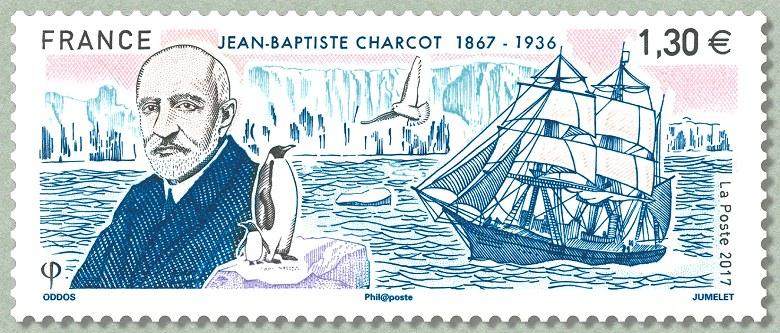 Jean baptiste charcot 1867 1936 timbre de 2017 for Timbre de cuisine