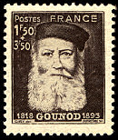 Image du timbre Charles Gounod 1818-1893