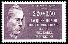 jacques monod 1910 1976 biologie mol culaire prix nobel de m decine m decins et biologistes. Black Bedroom Furniture Sets. Home Design Ideas
