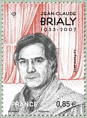 Image du timbre Jean-Claude Brialy  1933-2007