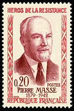 Pierre Masse 1879-1942 Quatrième série des Héros de la Résistance ...