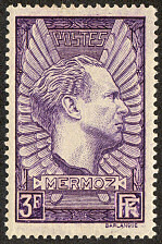 Image du timbre Mermoz (1901-1936)3F lilas