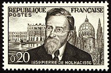 Pierre de Nolhac 1859-1936 - Timbre de 1960