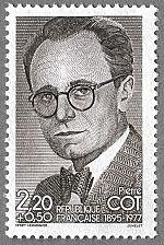 Pierre Cot 1895-1977 - Timbre de 1986
