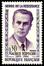 Image du timbre Maurice Ripoche-1895-1944