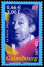 Image du timbre Serge Gainsbourg 1928-1991