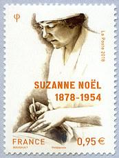 法国3月3日发行苏珊娜诺埃尔邮票