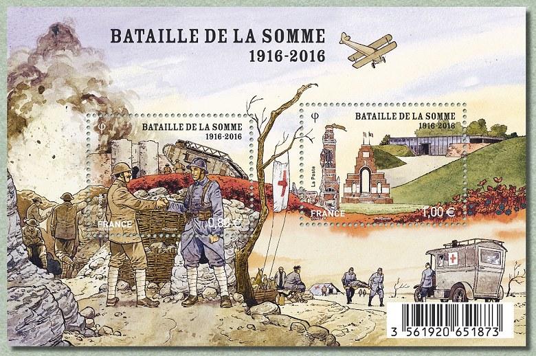 Parcours camping-car - LA BATAILLE DE LA SOMME: 1916 ...