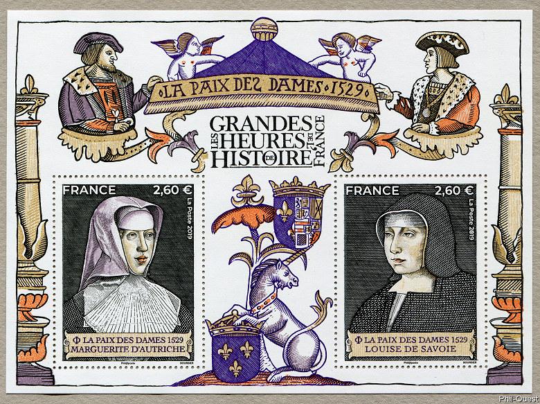 法国11月7日发行夫人的和平小全张