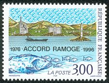 Image du timbre Accord Ramoge