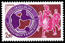 Image du timbre Guadeloupe
