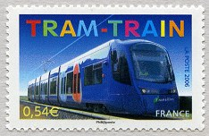 Image du timbre Le tram-train