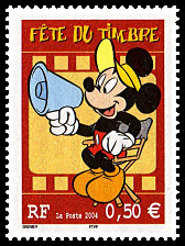 Image du timbre Mickey