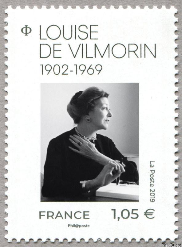 法国2月8日发行路易丝・德・维尔莫兰邮票
