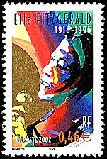 Image du timbre Ella Fitzgerald 1918-1996