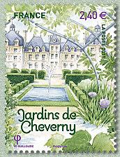 Jardins de Cheverny Salon du timbre 2012 - Jardins de France ...
