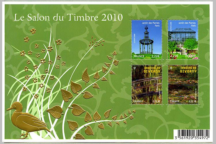 S rie de timbres for Salon du timbre 2017