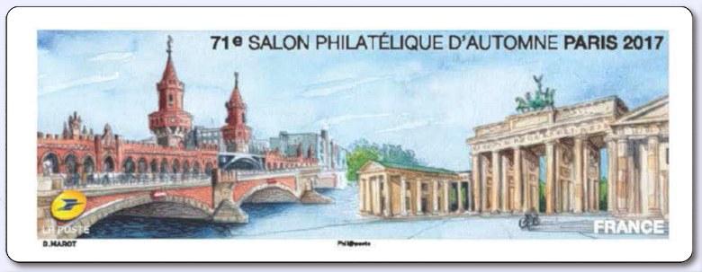 S rie de timbres de 2017 s rie de timbres for Salon du timbre 2017