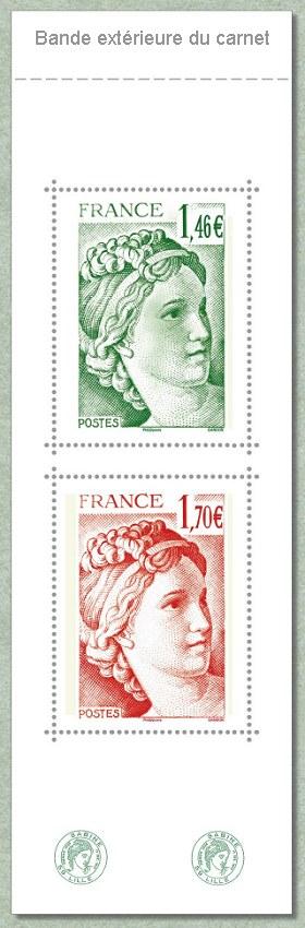 Carnet des 40 ans de la sabine de gandon 71e salon for Salon du timbre 2017