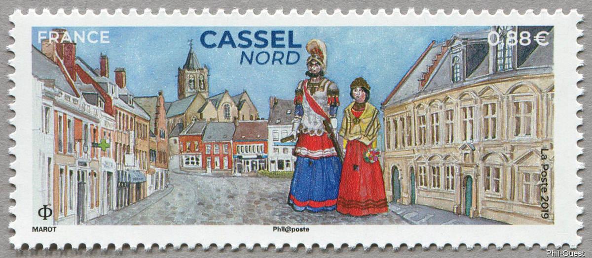 法国6月27日发行Casse Nord邮票