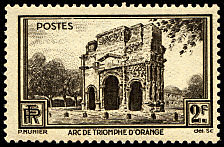 Image du timbre Arc de Triomphe d´Orange