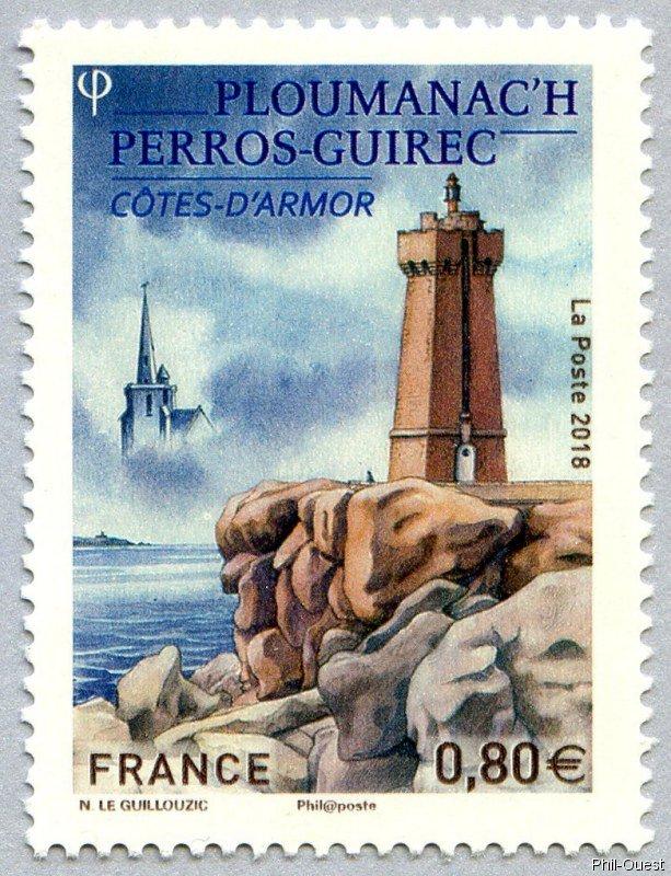 法国6月22日发行佩罗斯阿摩尔滨海邮票