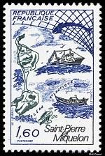 Saint-Pierre et Miquelon - Timbre de 1982