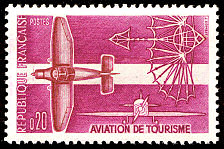 Image du timbre Aviation de tourisme