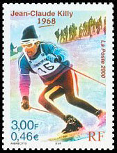 Image du timbre Jean Claude Killy 1968