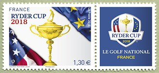Image du timbre Ryder Cup 2018