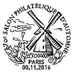 S rie de timbres de 2016 les timbres mis l occasion for Salon porte de champerret 2016